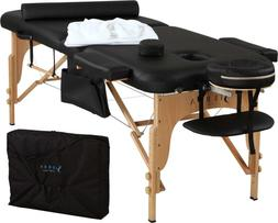 professional comfort portable massage table sierra comfort