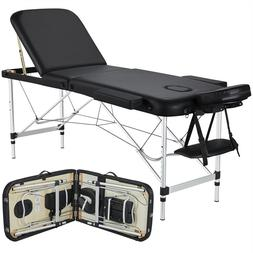 Professional Massage Bed Adjustable Massage Equipment 3 Fold