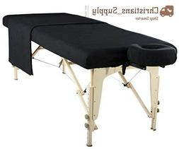 professional massage table sheets fold portable facial