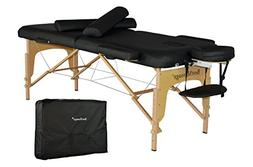New PU Portable Massage Table W/Free Carry Case Chair Bed Sp