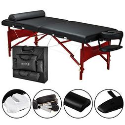 Master Massage Roma LX Portable Massage Table Package, 30 In