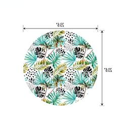 iPrint Round Table/Wall/Floor Decal Strikers/Removable/Doubl