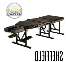 Sheffield Elite Professional Portable Chiropractic Table - C
