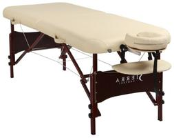Sierra Comfort Preferred Portable Massage Table with Mahogan