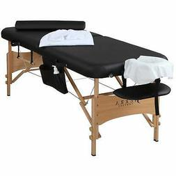 Sierra Comfort All-Inclusive Portable Massage Table with New