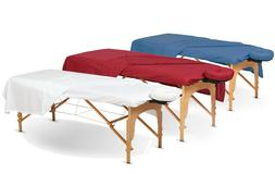 SPA Massage Table Poly Cotton Sheets 3 pieces Full Set Resis