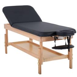"Stationary Massage Table Massage Bed Spa Bed 74"" Long 28"" Wi"