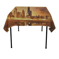 GOAEACH Tablecloths, Waterproof Wrinkle Free Home Table Deco