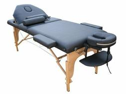The Best Massage Table 3 Fold Reiki Portable Massage Table F