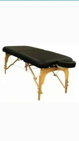The NRG® Energy Massage Table Portable with Wheeled Cart &