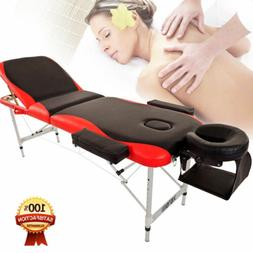 Ultra Light Aluminum Portable Massage Table Facial SPA Bed T