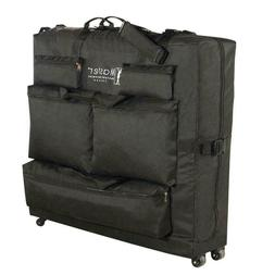 Master Massage Universal Wheeled Table Carry Case,bag for Ta