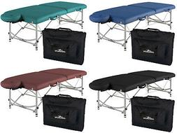 Stronglite Versalite Pro Portable Massage Table Package w/ C